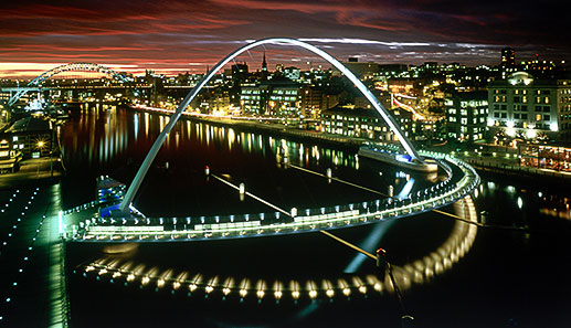 Gateshead Millennium Bridge (Jonathan Speirs Scholarship Fund)