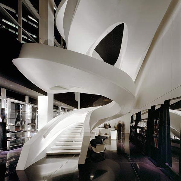 Speirs + Major Armani Fifth Avenue Lighting Design